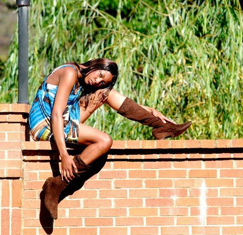 Female model photo shoot of Brittany Benjamin