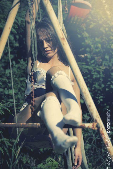 Female model photo shoot of Lareina Slight in Knocklyon
