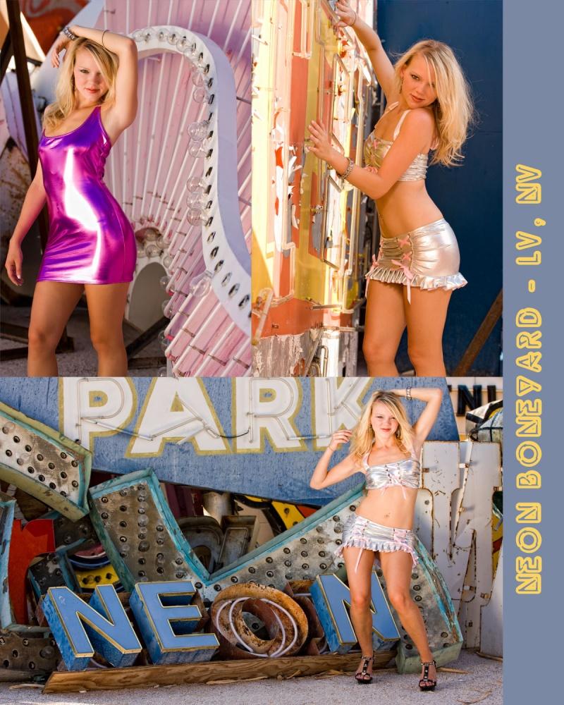 Las Vegas, NV Jan 15, 2012 Phlash Studios Neon Playground