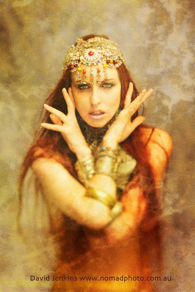 Studio - Sydney Jan 16, 2012 David Jenkins Mea Culpa - The Goddesses of Shangri-La