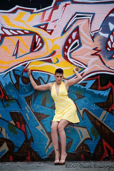 Female model photo shoot of Lindsay Berman by Chuck Espinoza