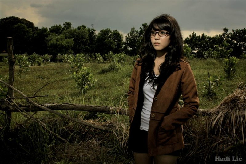 Male model photo shoot of Hadi Lie in Indonesia