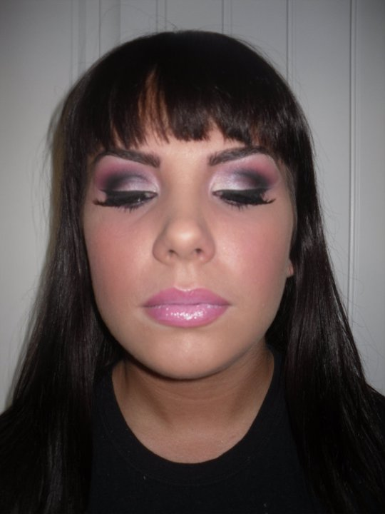 Female model photo shoot of ALL DOLLED-UP MAKEUP