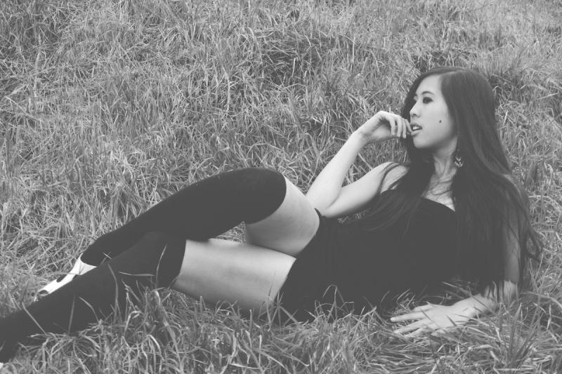 Female model photo shoot of Twiggy Tallulah by Thuan Dang