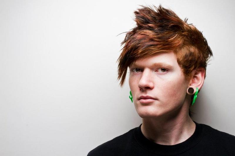 Male model photo shoot of Mathias The Archer in studio