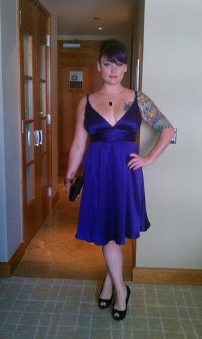 Female model photo shoot of Monica Mixologist