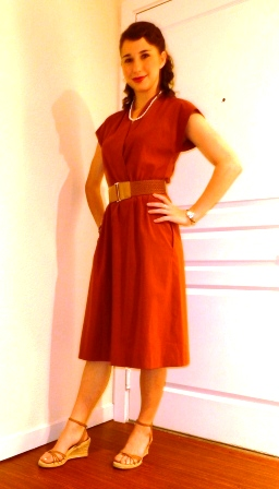 Denver, CO Jan 22, 2012 I enjoy different decades. Outfit, makeup and hair done by myself