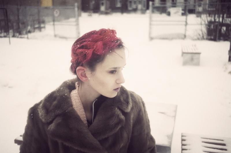 Female model photo shoot of Alexandra Apple