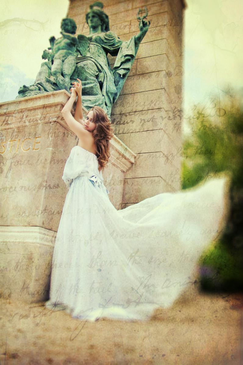 Female model photo shoot of Elena Olshvang by AnnaHajiyev Photography