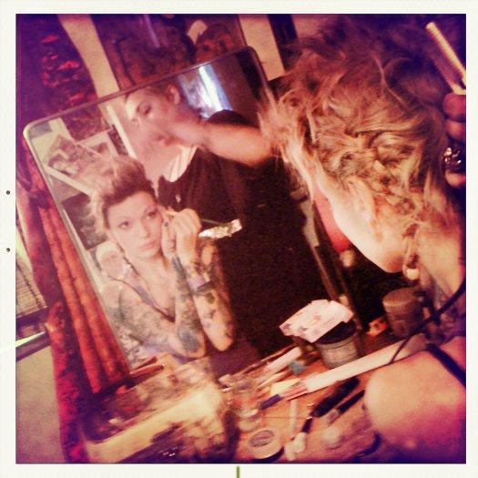 Jan 27, 2012 Nicole Wray Stylist Preperation