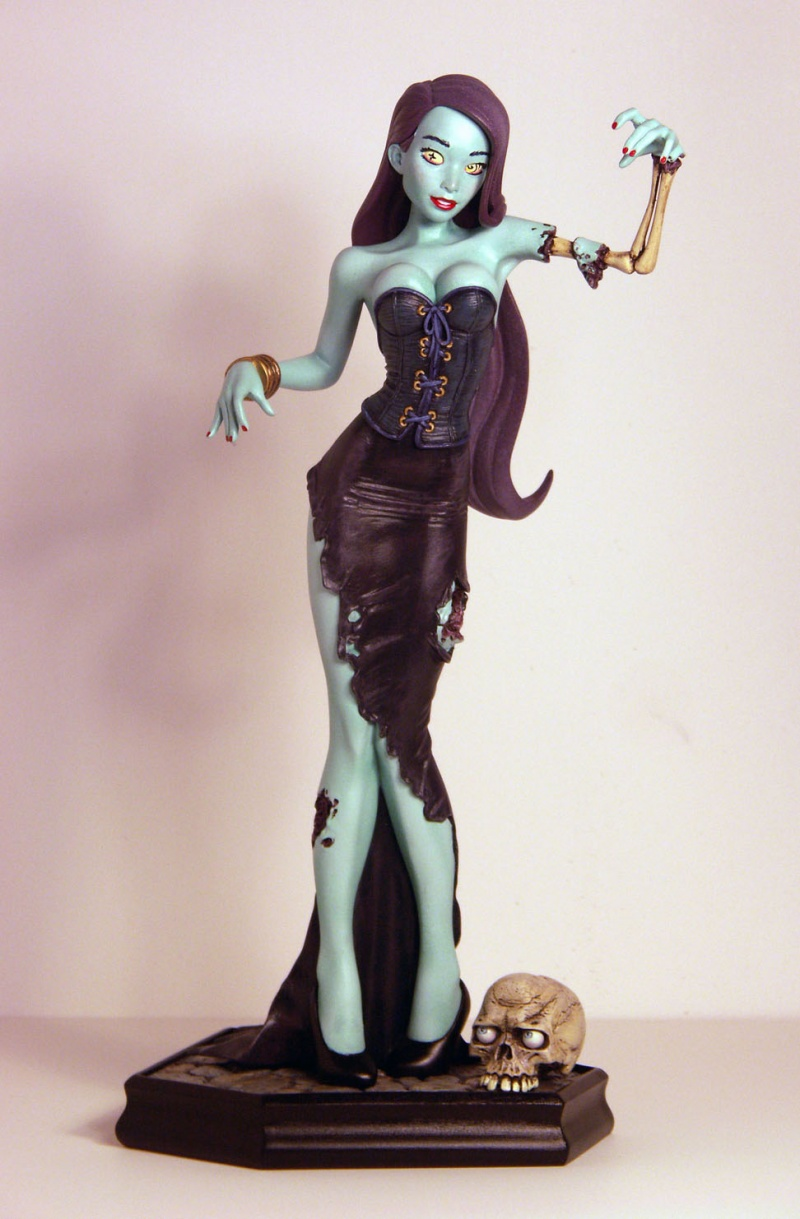 Jan 29, 2012 TK Miller Sculpting, 2011. Zombie Gurrrl!