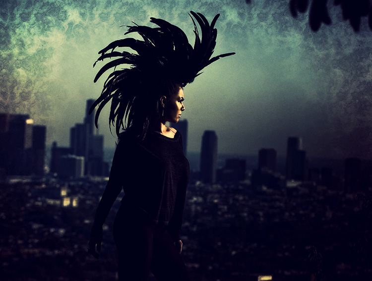 Los Angeles Jan 29, 2012 Thomas R. Cordova 2012 Crow Over L.A.
