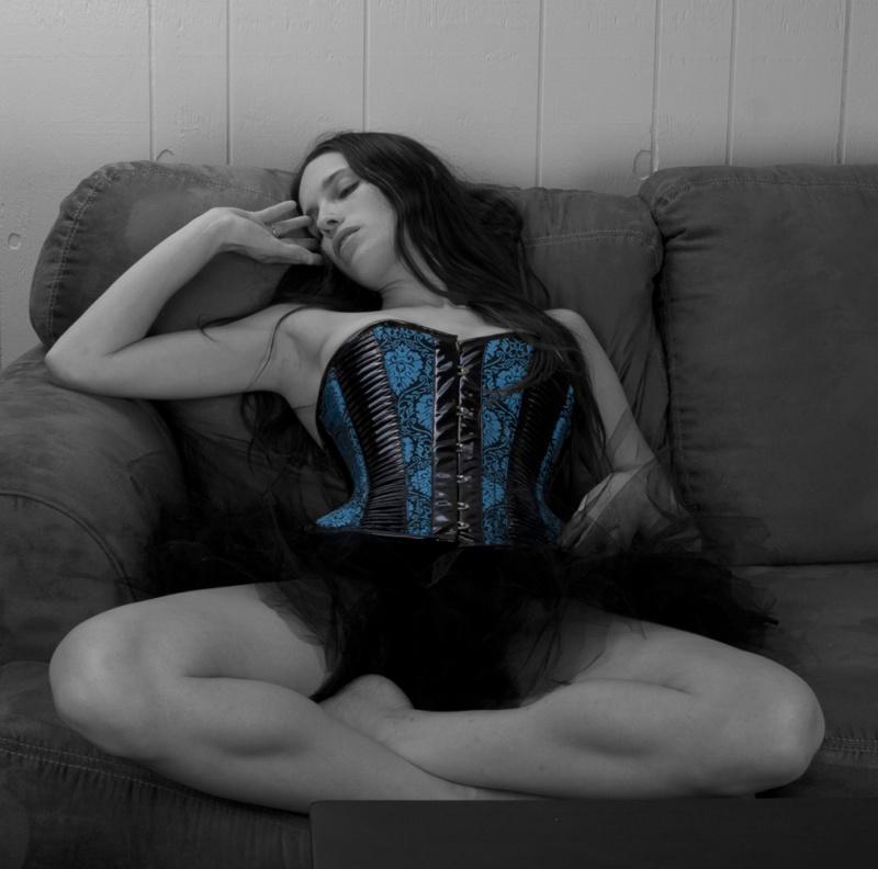 Male and Female model photo shoot of VIVD Imagination Studio and Cattiva Gattina