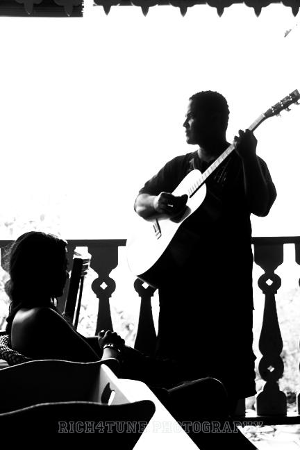 Pink Plantation House Feb 01, 2012 Richard D Fortune Potrait.  West Indian Music affair
