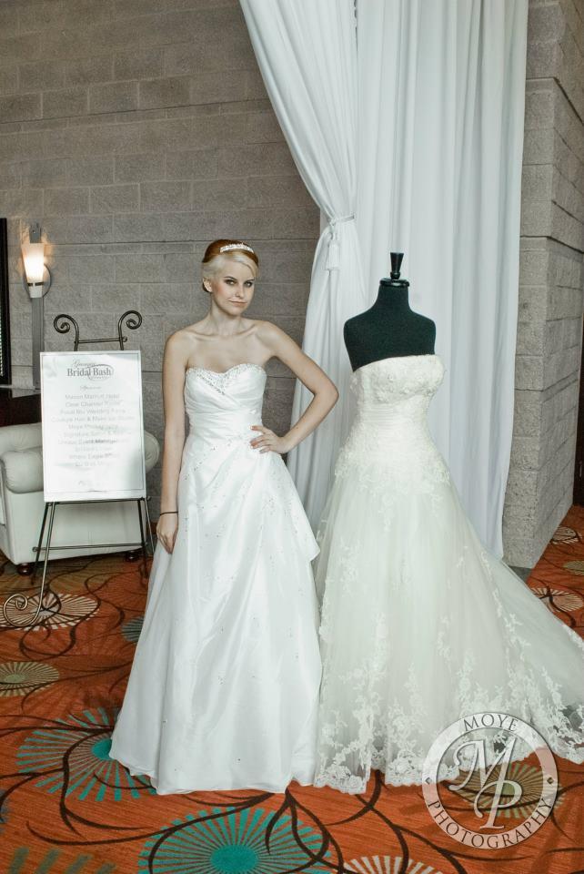 Female model photo shoot of Meleese in Bridal Bash 2012