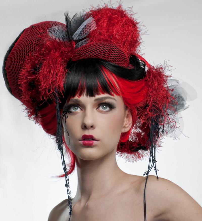 Female model photo shoot of Debra Weite MUHA