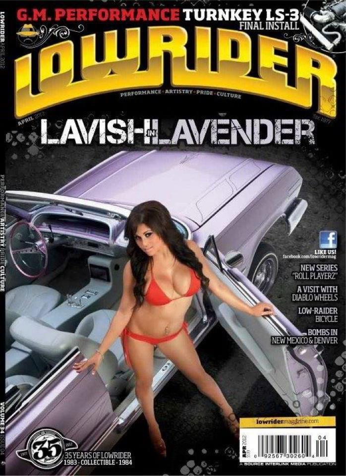 Feb 03, 2012 APRIL 2012 LOWRIDER COVER GIRL