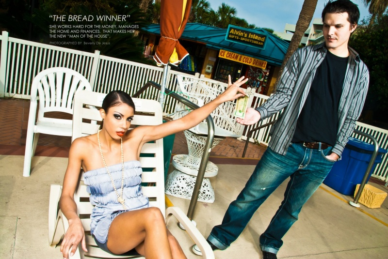 Male and Female model photo shoot of Richard G. and Shaunice Clay by Beverly De Jesus  in FWB, makeup by WithOut A Trace