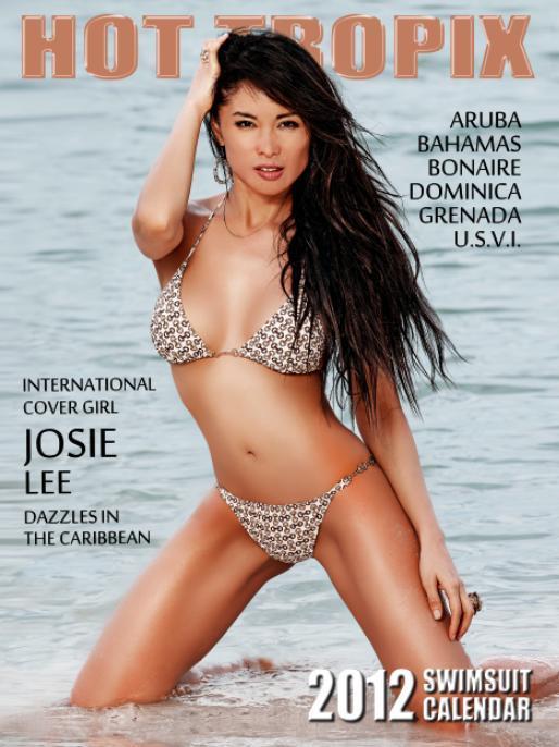 Netherland Antilles, Caribbean Feb 04, 2012 Greg Alduous   http://www.hot-tropix.com/ 2012 Hot Tropix Calendar Cover
