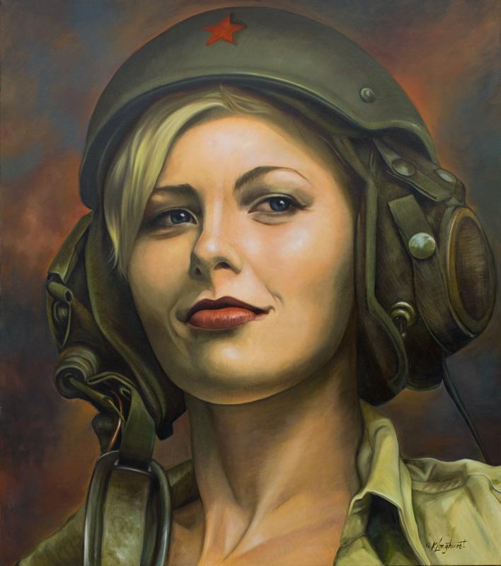Feb 05, 2012 Tank Girl. Oil on canvas 163x184 cm