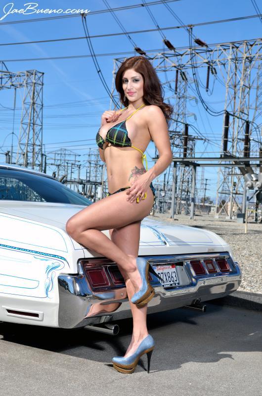 Los Angeles, CA Feb 07, 2012 Jae & Stephanie Bueno 2012 ~ Lowrider Magazine Photo Shoot