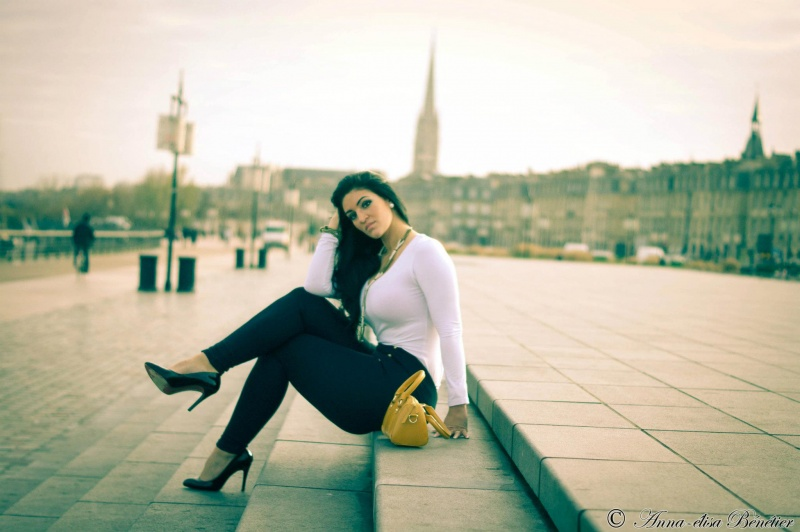 Bordeaux, France Feb 08, 2012 Shooting with Anna-Elisa Photographie in Dec 2011 pt1