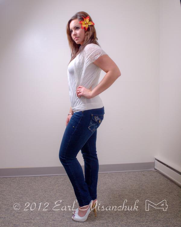 Female model photo shoot of Cassandra Wojak by Earl Misanchuk