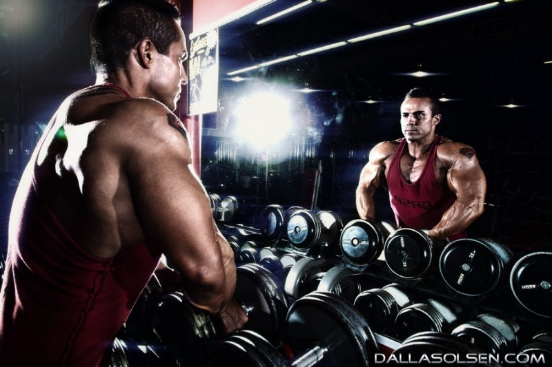 Male model photo shoot of Dallas Olsen Studios in Gold Coast Gym