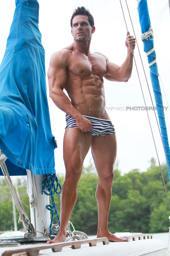 Picture About Male Model Burton H from Miami Beach, Florida, US