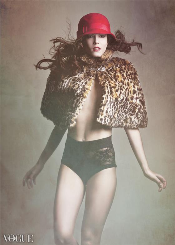 Beverly Hills California  Feb 11, 2012 Benjo Arwas  Photographed by Benjo Arwas  Model: Angie Menze MUAH: Maira Gomez Mua