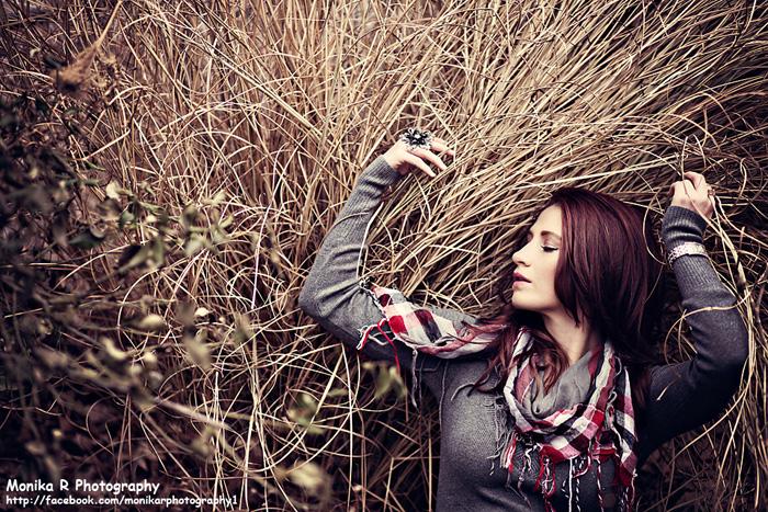 Female model photo shoot of Monika R Photography and Britta H