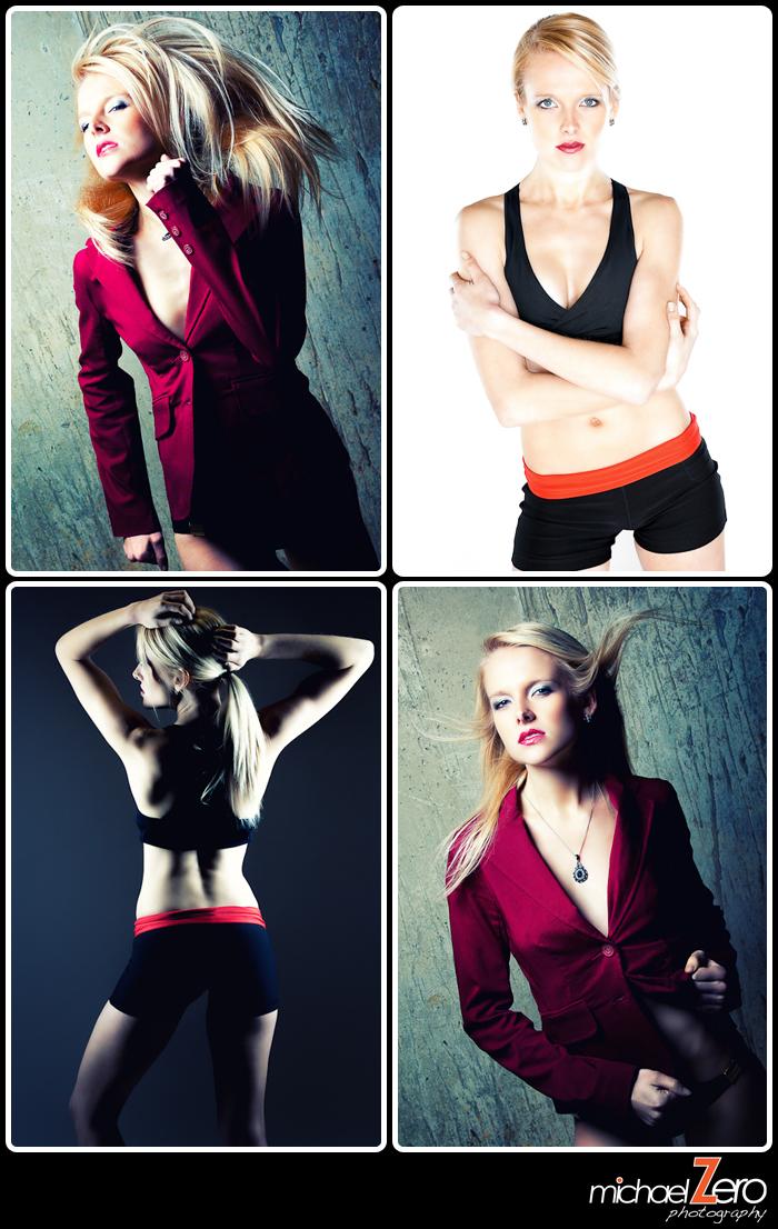 Female model photo shoot of Kate Avery by Michael Zero