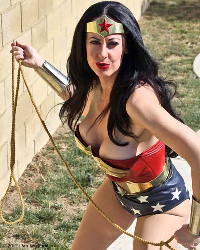 Los Angeles, CA Feb 13, 2012 2012 Dan Wickline Wonder Woman (Diana Knight)