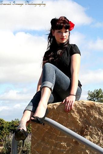 Female model photo shoot of Cheyenne Louise in Ventura, CA