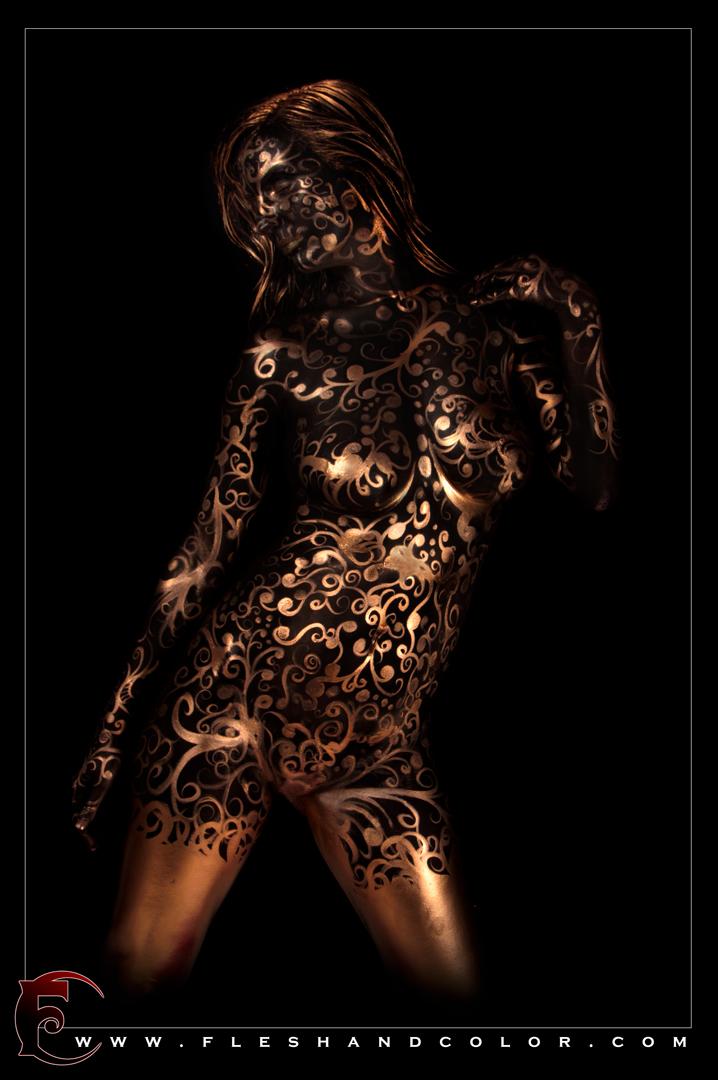 Columbus, GA Feb 15, 2012 2012 FleshandColor.com Metallic with black body paint