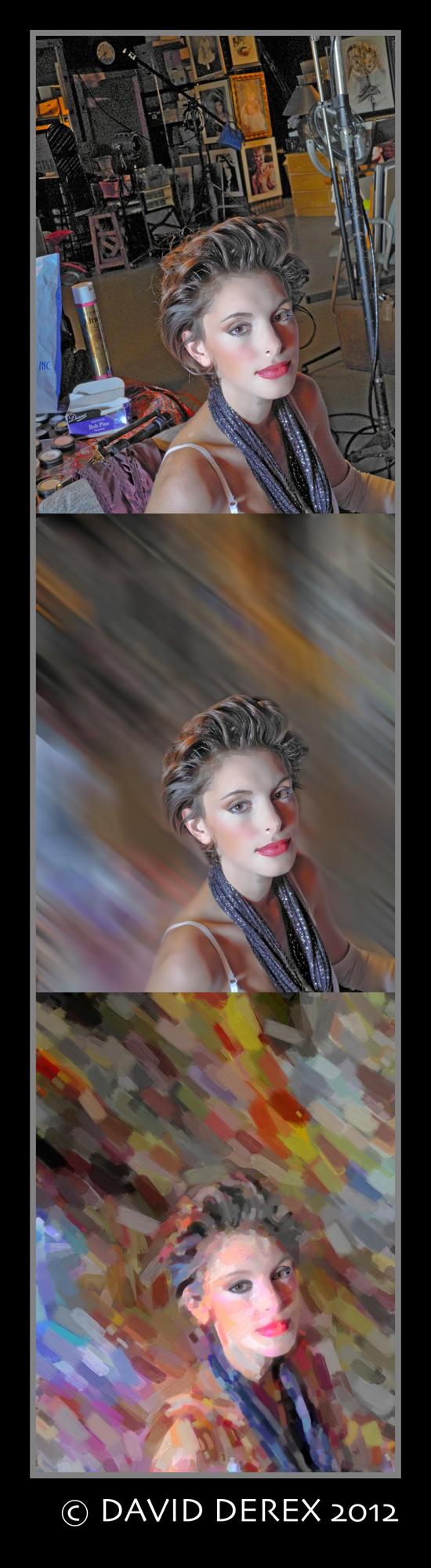 New York Metro Feb 16, 2012 David Derex Windowlight, In the Makeup Chair - hair & makeup by Kathleen M. Scanlon