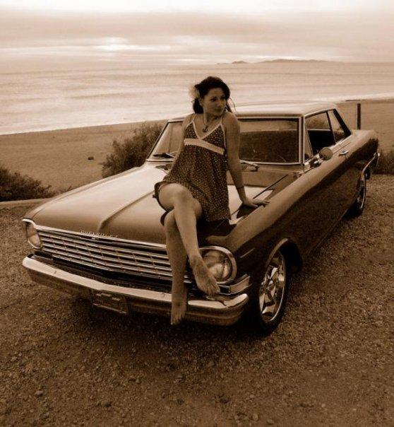 Female model photo shoot of Cheyenne Louise in Point Magu, CA