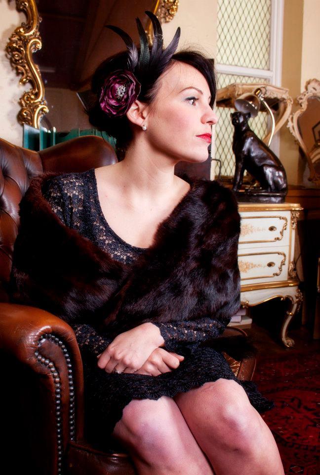 Female model photo shoot of Kitty Wink Vintage in Rose & Lee Vintage Living, Manchester
