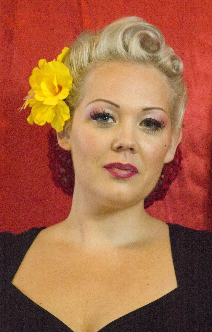 Female model photo shoot of Kitty Wink Vintage in www.kittywinkvintage.co.uk
