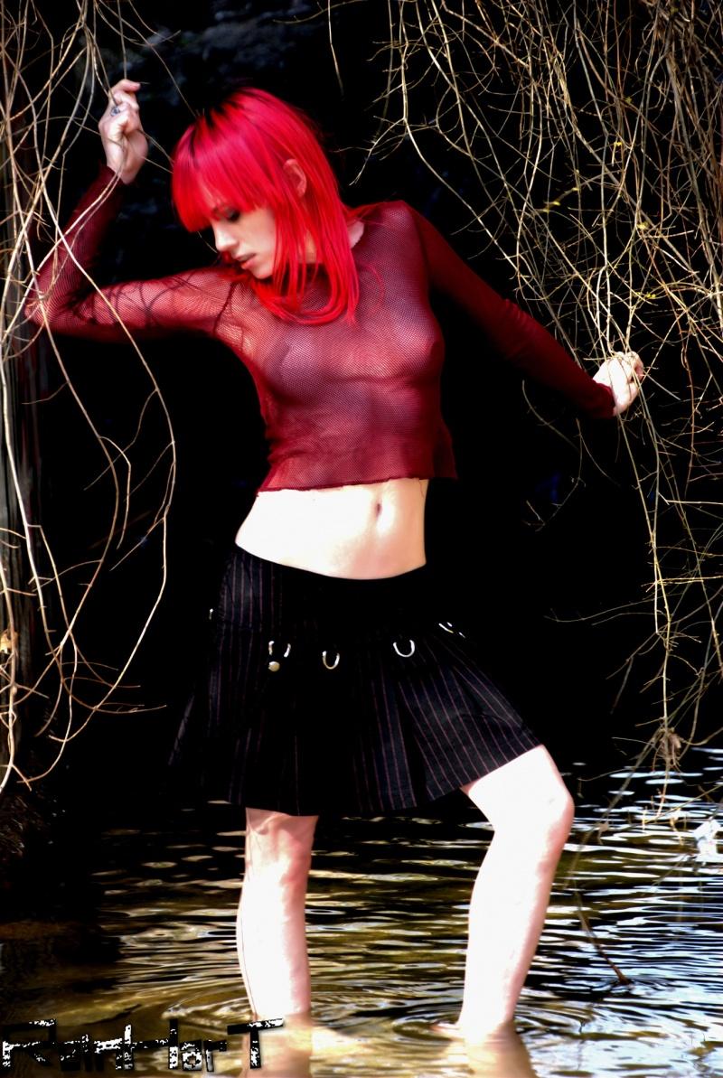 Female model photo shoot of  Nymphetamine by Reinhart