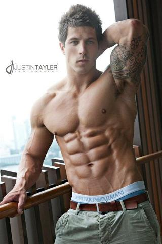Picture About Male Model Leestram from London, England, United Kingdom