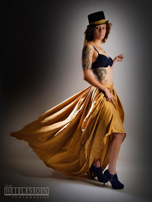 Female model photo shoot of Christyal  by TomWilson