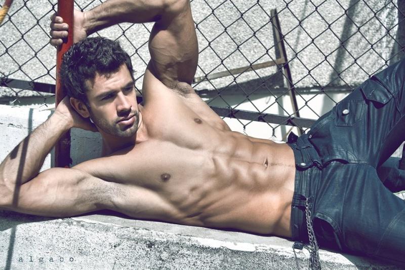 Male model photo shoot of algabo