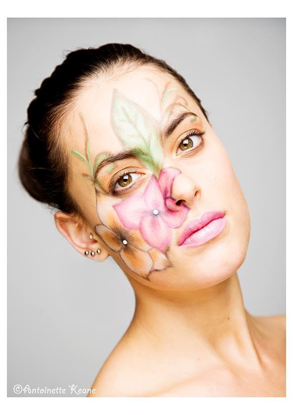 Female model photo shoot of Aishling Clarke Makeup in Dublin