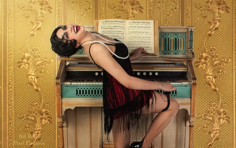 LAS VEGAS Feb 24, 2012 Bill Resto, Pixel Elegance TINA TOKYO FLAPPER!