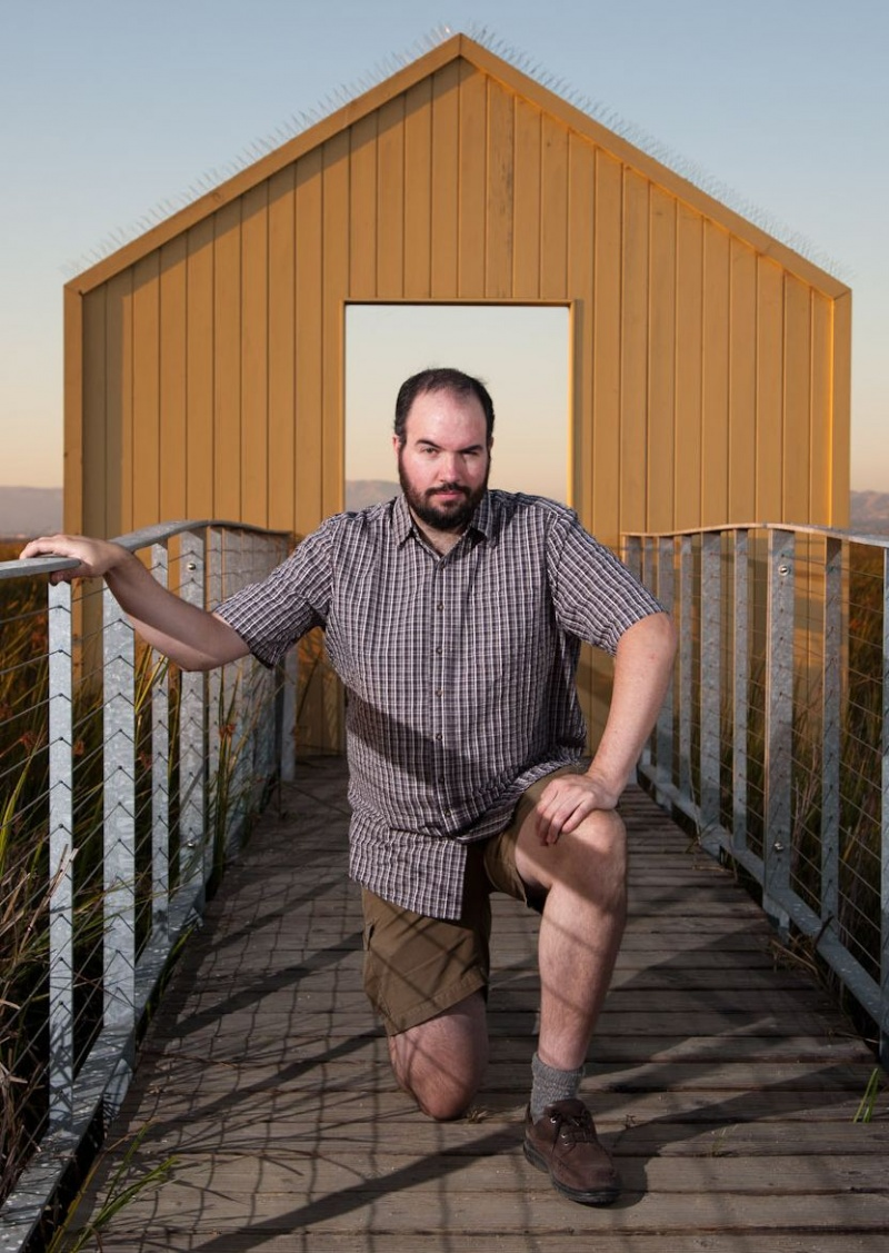 Male model photo shoot of TallManMike in alviso marina, alviso, ca