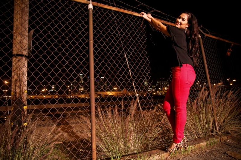 Female model photo shoot of Adriana Palacios in Downtown Los Angeles
