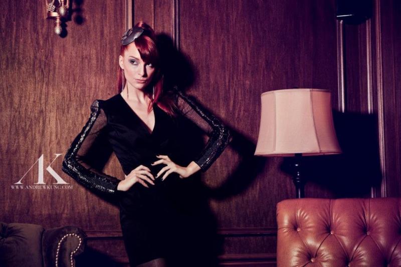 Female model photo shoot of Bri Newman in Trust Lounge