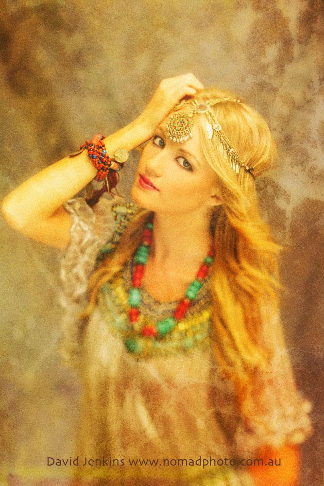 Studio - Sydney Feb 29, 2012 David Jenkins Britnee White - The Goddesses of Shangri-La