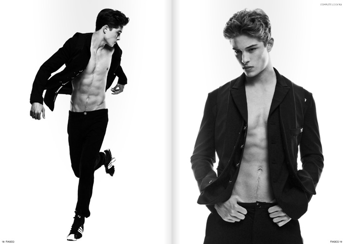 Mar 02, 2012 Photog: Justin Wu, Stylist/Fashion Editor: Raul Guerrero, Hair & grooming: Nedjetti Harvey, Make-Up: Steven Canavan, Model: Francisco Lachowski (Ford NYC), Styling Assistants: Marciano & Adrian